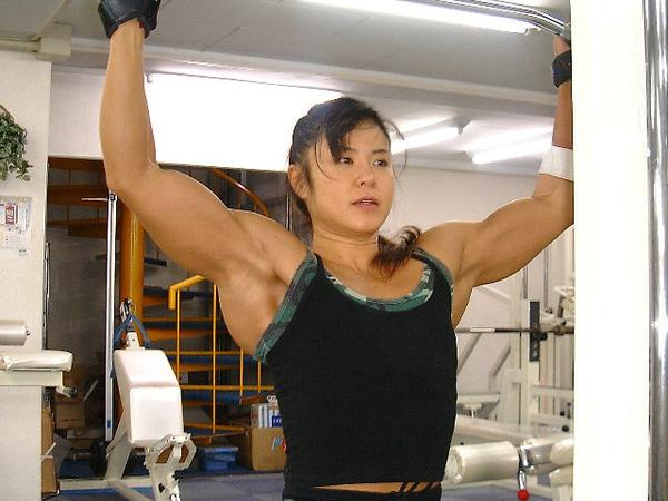 Asian Bodybuilder Women 9