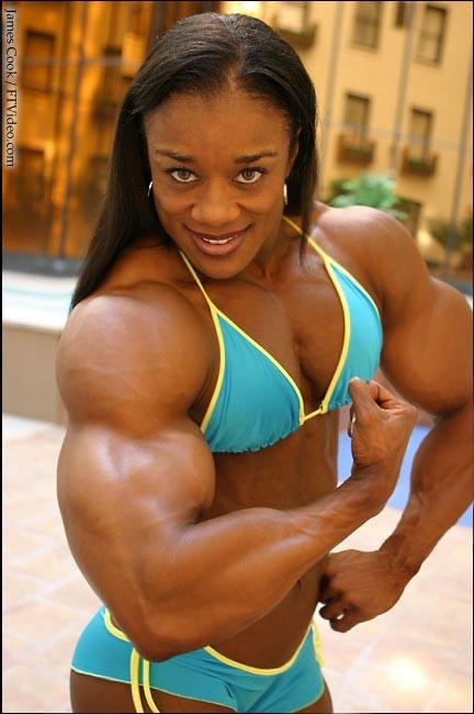 Buff muscle women