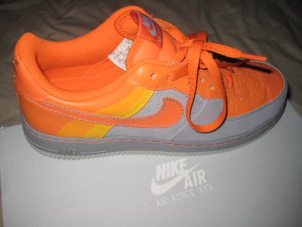 new concept ba86f 192c6 nike air force xxv yellow and grey