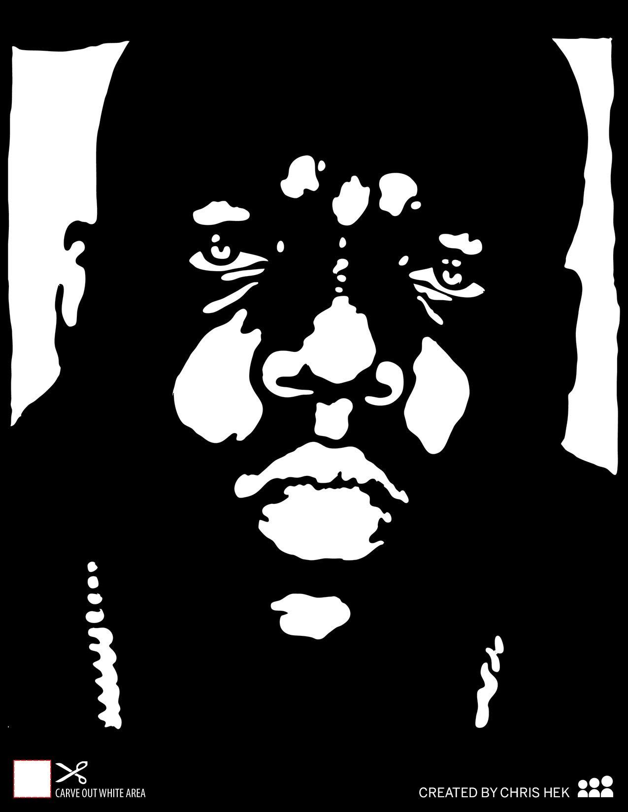 biggie smalls crown stencil - photo #15