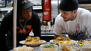 Joey Bada$$ Makes Curry Chicken and Waffles with John Seymour of Sweet Chick view on myspace.com tube online.