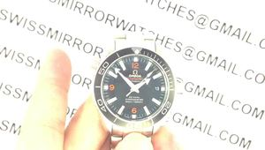 Replica Omega Planet Ocean Professional Ceramic/Orange Bezel 42mm 1:1 Noob Best Edition on SS Bracelet A2836 view on myspace.com tube online.