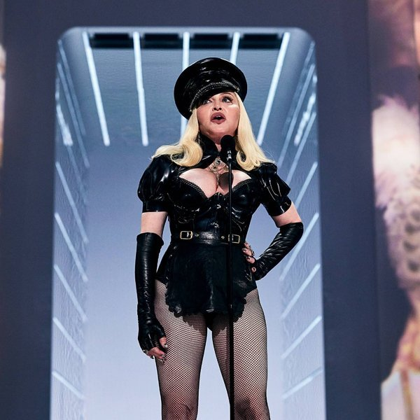 """Madonna says she's """"almost finished"""" the script for her biopic"""