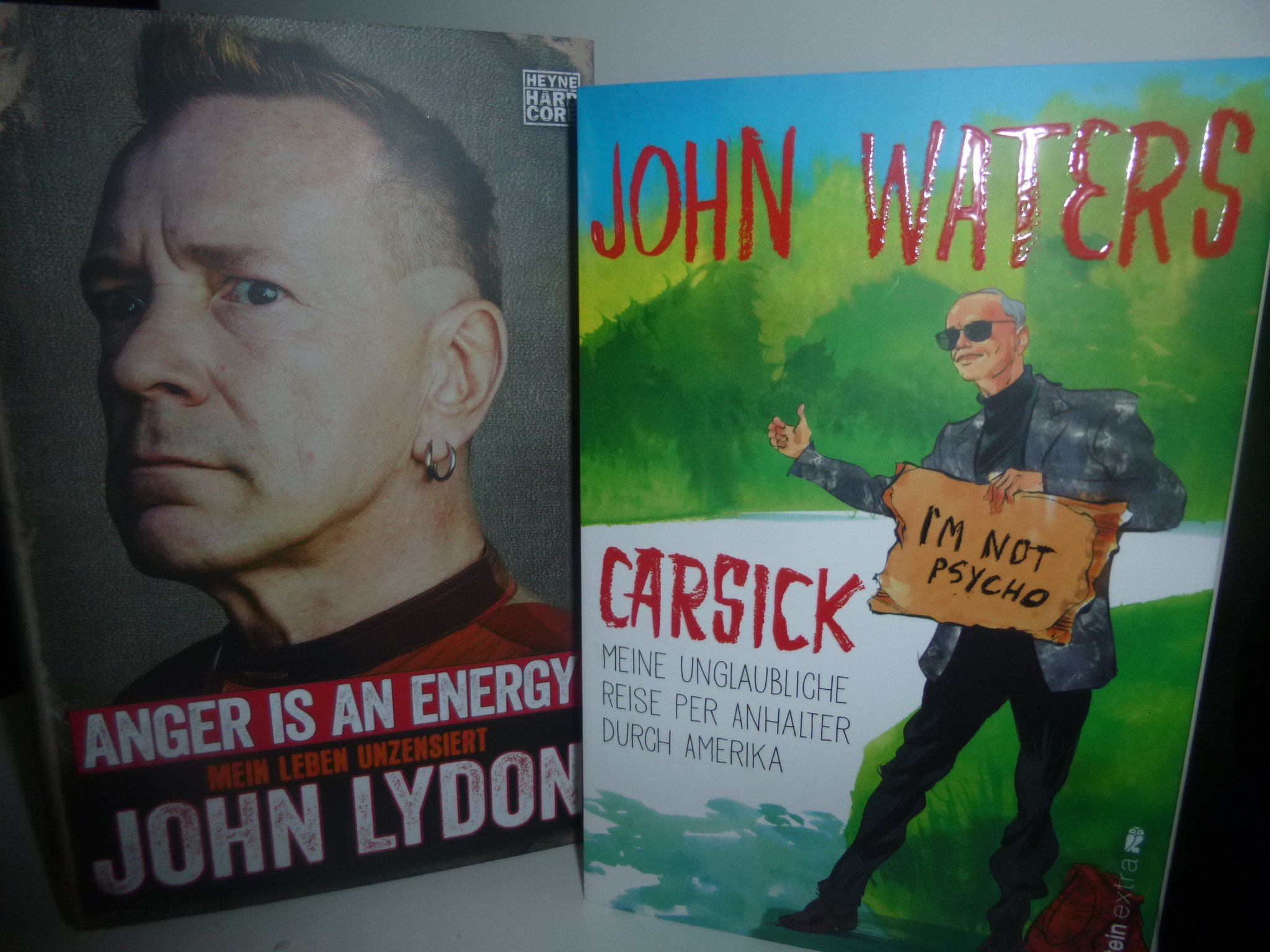 Bücher: Lydon + Waters