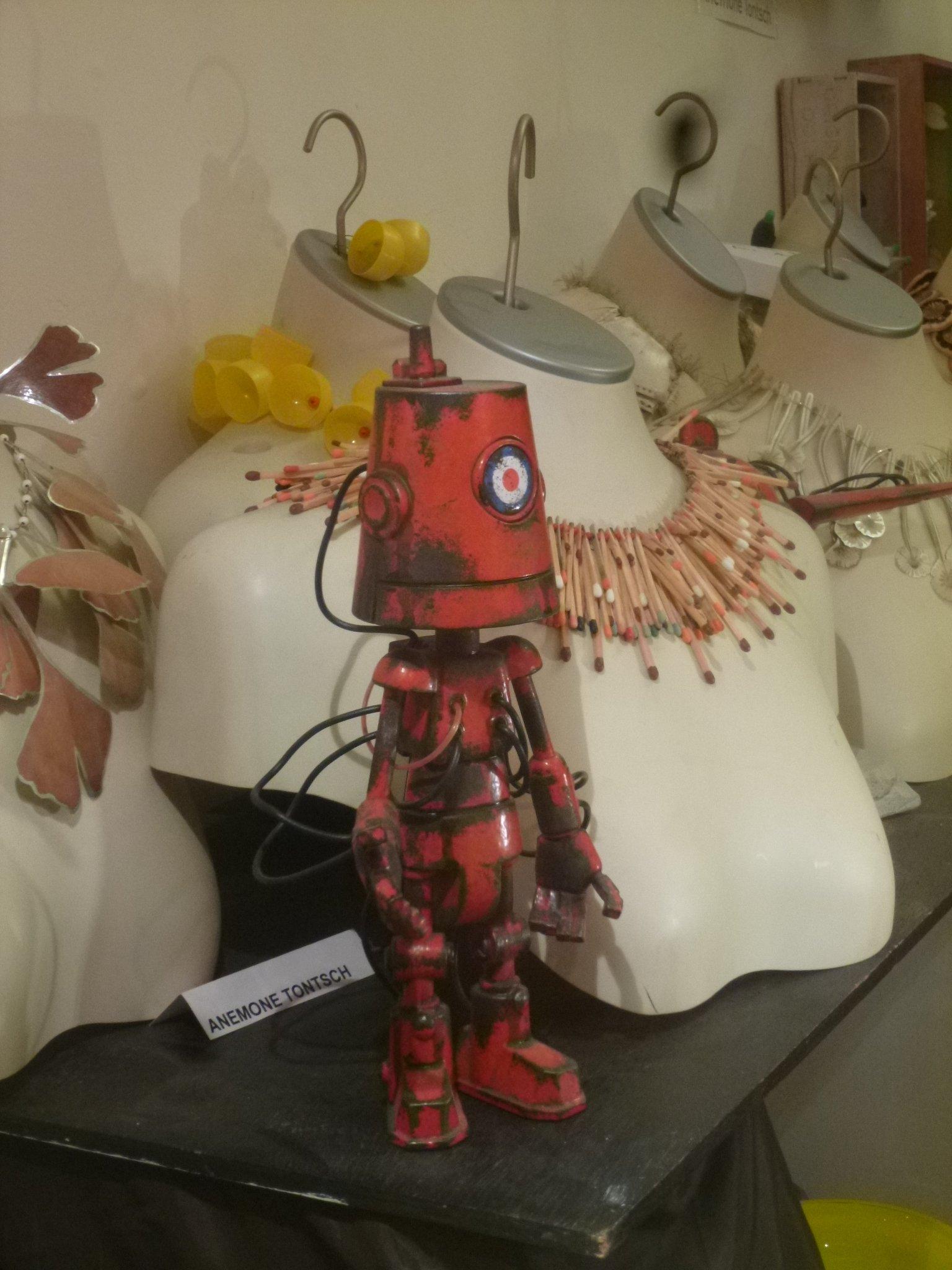 Roboter als Dekoration