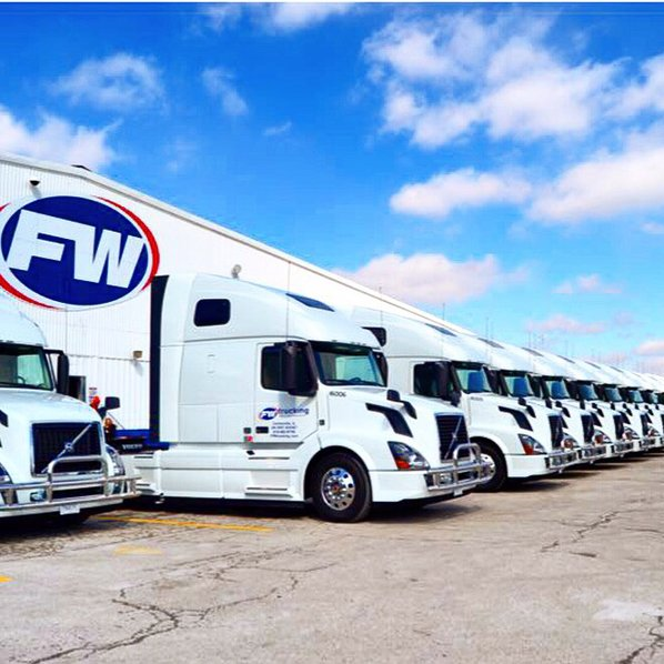 FW Trucking started the year with 36 drivers and added 16 more throughout the 2015.
