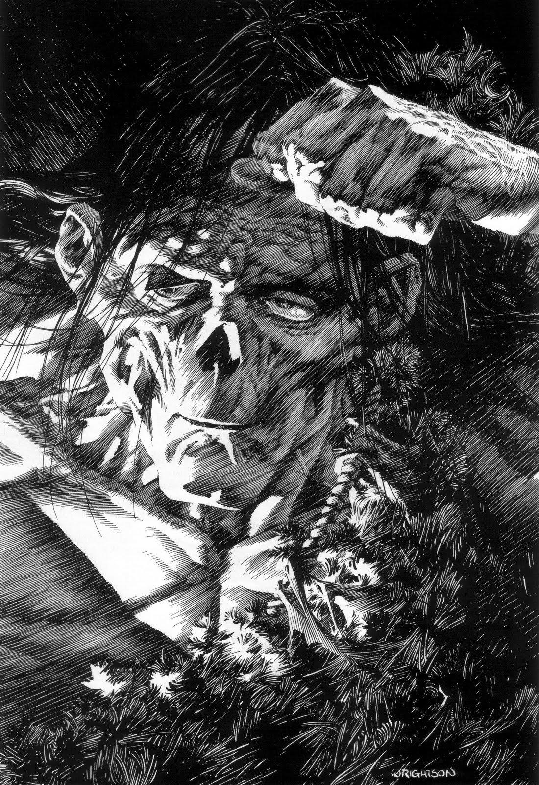 Wrightson: Frankenstein Monster