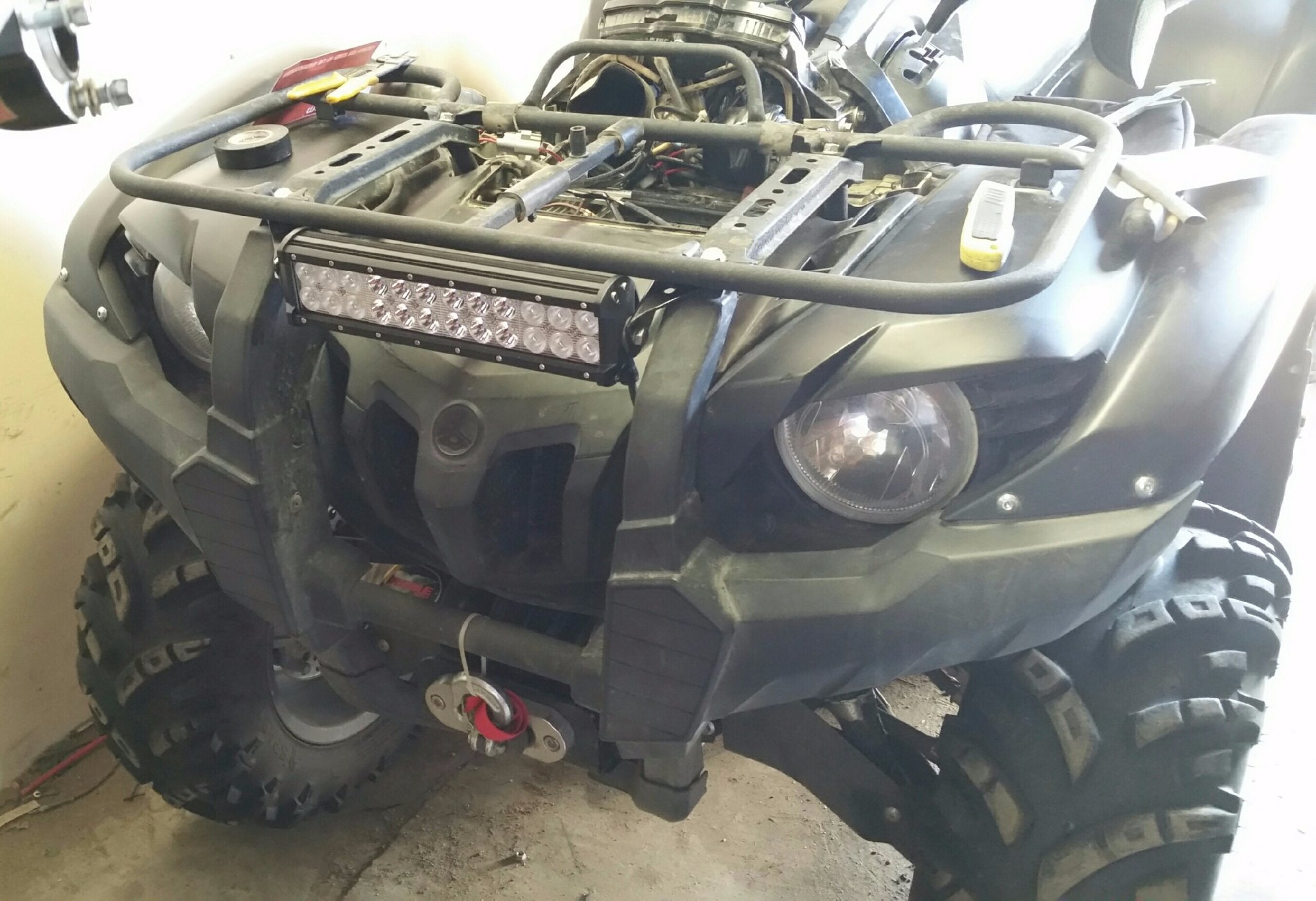 full led lighting question page 4 yamaha grizzly atv forum  at n-0.co