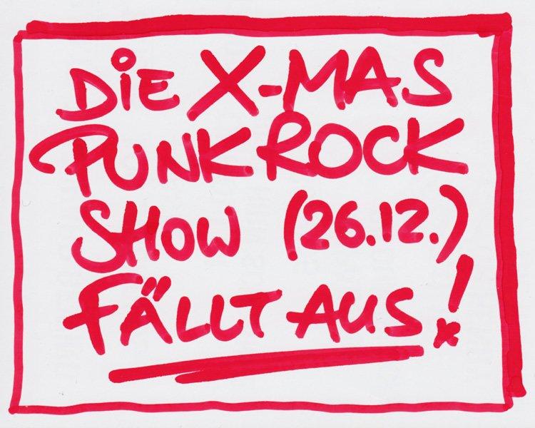 X-Mas PunkRock-Show 2015...